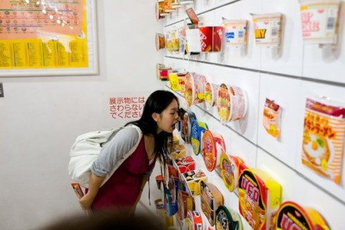 xiaoEats at the Cup Noodle Museum in Japan